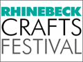 Rhinebeck Crafts Festival at the Dutchess County Fairgrounds in Rhinebeck, NY