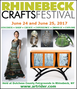 June 24 and June 25, 2017 - Rhinebeck CraftsFestival